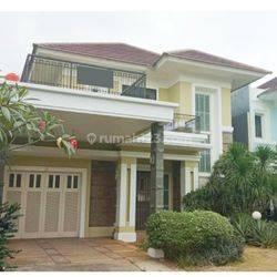 Rumah Alam Sutera, master bedroom lantai bawah