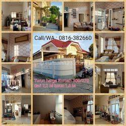 Rumah Cantik tipe 300/270 di Komplek Vila Sukamaju Palembang