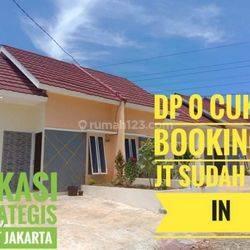 DP 0 Rumah Murah Lokasi Strategis Deket Jakarta