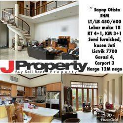 Rumah Cantik Langka Pusat Kota Bandung