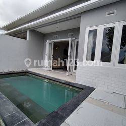 rumah semi villa view laut di taman griya jimbaran,fully furnish