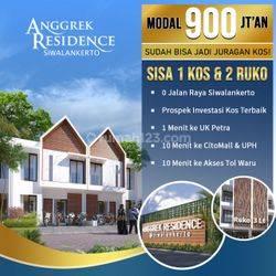 A.55.Rumah ANGGREK RESIDENCE di dekat RUNGKUT - SURABAYA SELATAN - RUKOZT = HABIZ + RUKO = 1 UNIT TERAKHIR (BEST SELLER) - STRATEGIS, Kamar 5 - 6, Bisa dijadikan Kost (GRADE A+)