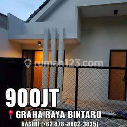 rumah idaman 1,5lantai bisa kpr di kawasan bintaro