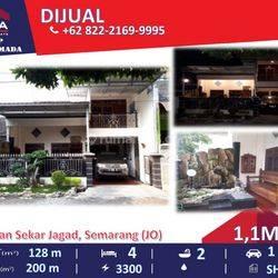 Rumah di Taman Sekar Jagad Semarang