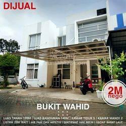 Rumah di Bukit Wahid, Semarang Barat