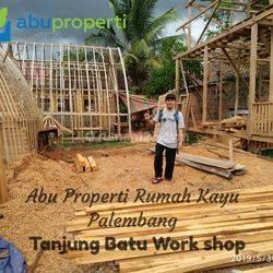 Rumah Kayu Bongkar Pasang Khas Palembang