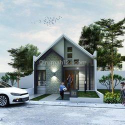 Rumah Mewah 1-lantai Cluster Baru Kawasan Pondok Gede Dekat Tol Jatiasih