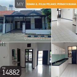 Rumah Jl. Pulau Pelangi, Permata Buana, Jakarta Barat, 8x20m, 1 Lt, SHM