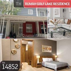 Rumah Golf Lake Residence, Pine Hills, Cengkareng, Jakarta Barat, 6x15m, 2 Lt, SHM