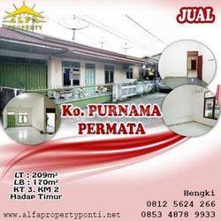 Rumah Purnama Permata Pontianak Kalimantan Barat