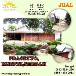 Rumah Prasetyo, Korpri, Serdam, Pontianak, Kalimantan Barat