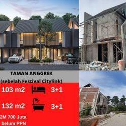 Rumah Inden Tengah Kota Di Komplek Taman Anggrek