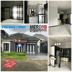 Rumah kondisi rapi dan furnished di perum Villa Tamara Samarinda