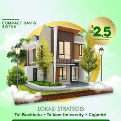 Rumah 2 Lantai di Ciganitri Bojongsoang Bandung Strategis Akses Tol Buahbatu