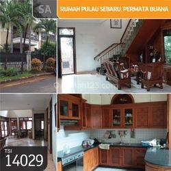 Rumah Pulau Sebaru, Permata Buana, Jakarta Barat, 19x25m, 2 Lt, SHM