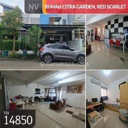 Rumah Citra Garden, Cluster Red Scarlet, Jakarta Barat, 6x17m, 2½ Lt, SHM