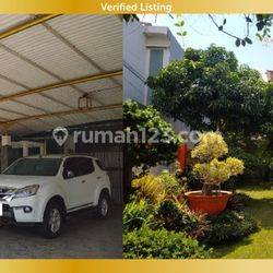 Rumah Lux Nuansa Kusen Jati Siap Huni di Sari Asih Bandung