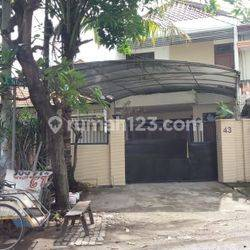 Rumah Disewa Jalan Mawar Basuki Rahmad Surabaya