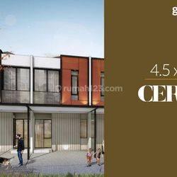 Rumah Milenial PIK 2 Cluster Georgia(4,5x12,5m) Hub:08119999157