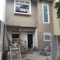 Rumah 2 lantai bangunan baru Strategis di Jalan Raya Margahayu Soekarno Hatta