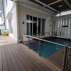 Town House di Pasar Minggu dg Privat Pool Best Unit, Semi Furnished HSE-A0431