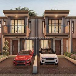 Rumah murah di Cinangka nempel Pondok Cabe, 2 lantai, dekat tol, harga 760 juta.