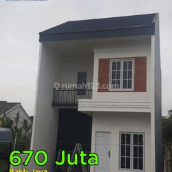 Rumah Cantik Minimalis murah 2 lantai di Setu Tangerang Selatan