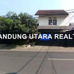 Rumah Siap Huni Mainroad Sarimanah, Sarijadi.  Good Loc, Strategis, Cocok Untuk Usaha, Negotiable..