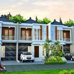 Rumah 2 Lantai harga 700jutaan di Areman Tugu Kelapa Dua Depok