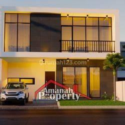 Rumah Design Mewah Di Jalan Utama Kalisari Raya Pasar Rebo Jakarta Timur