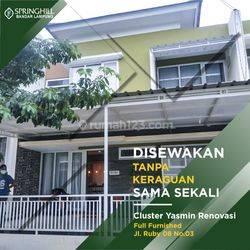 Rumah Tipe Yasmin Renovasi Full Furnished di Springhill Bandar Lampung