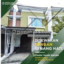 Rumah Tipe Vanda Semifurnished Siap Huni di Springhill Bandar Lampung