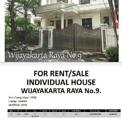 Rumah Mewah Strategis di Area Jl Kapten Tendean
