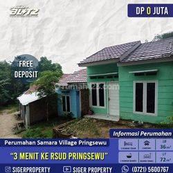 Rumah type 36 subsidi di pringsewu kota deket RSUD