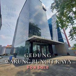 Gedung Baru 6 Lantai Lokasi Strategis Jl. Warung Buncit. Gedung Sudah Finish 100%