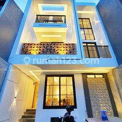 Rumah baru Jakarta Barat Green Ville cantik minimalis modern cluster