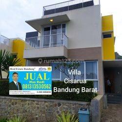 Rumah Villa Cisarua Bandung Barat Dekat Lembang.Cimahi Dan Kota Bandung.