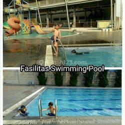 Rumah di La'Margas Residence pasilitas kolam renang