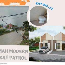Rumah murah tanah luas dekat kantor desa pataruman