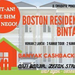 Rumah 2 lantai mewah, nyaman dan anti banjir 1000%
