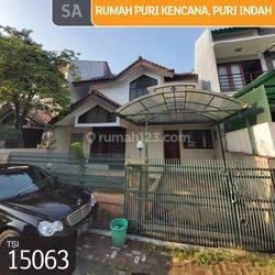 Rumah Puri Kencana, Puri Indah, Jakarta Barat, 8x15m, 2 Lt, SHM