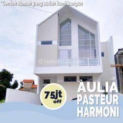 STRATEGIS 1.2KM Pasar Cimindi Sukaraja Cicendo Rumah Mewah di Pasteur