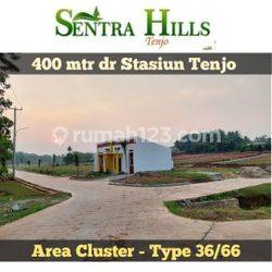 Mepet Stasiun Tenjo, Cluster di Sentra Hills Tenjo. Nyaman bepergian dgn KRL