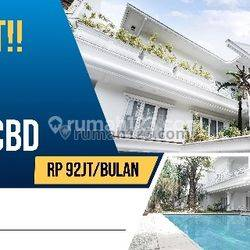 Superrrr Luxury & Elegant House At Kebayoran Baru
