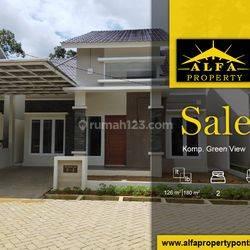 Rumah Green View, Pontianak, Kalimantan Barat