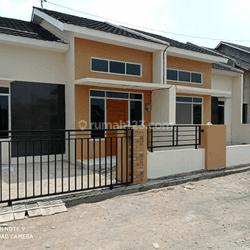 Rumah Baru Murah bonus pagar dan canopy