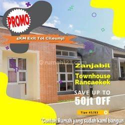 TANPA BANK Rumah minimalis Syariah Cluster di rancaekek Cileunyi timur