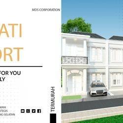 Adipati Resort Ciputat, hunian eksklusif 2 lantai eksterior classic 700jtan nego dan free SHM senilai 50jt!