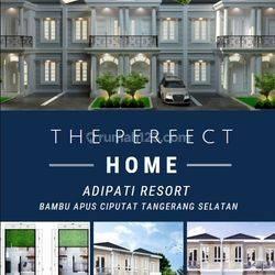 Rumah sultan 2 lantai 700jtan nego, Adipati Resort Ciputat!