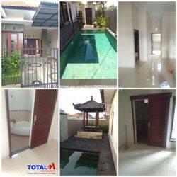 Rumah Style Villa dgn Kolam Renang di Tukad Badung, Renon, Denpasar Selatan